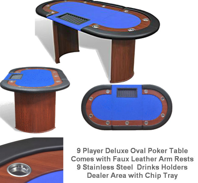 10 Player & Dealer Area Table